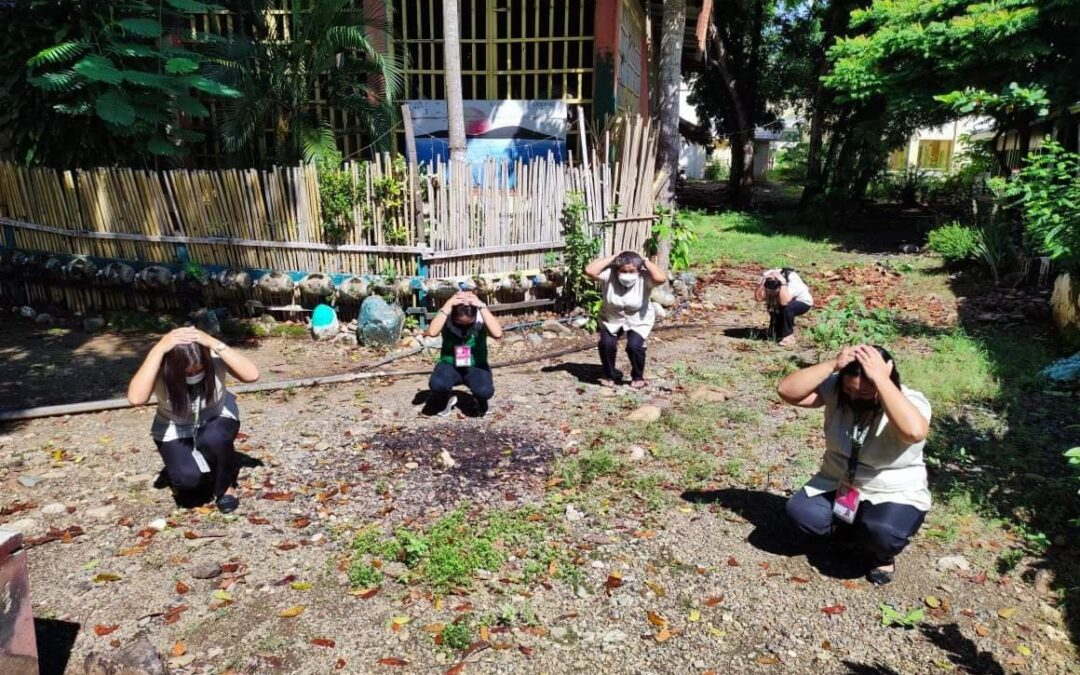 2nd Quarter National Simultaneous Earthquake Drill (NSED)