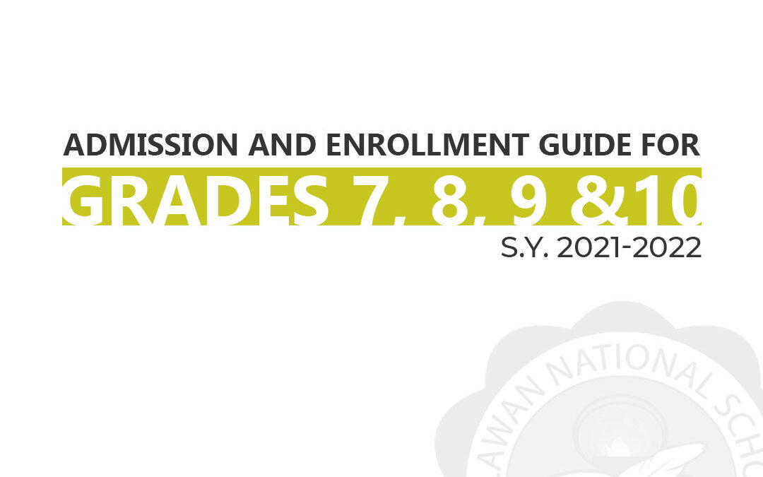 JHS Admission and Enrollment Guide