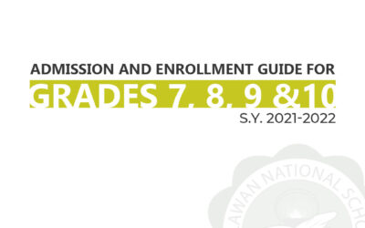 Junior High School Admission and Enrollment Guide for School Year 2021-2022